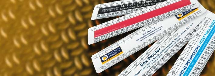 scale rulers with my logo