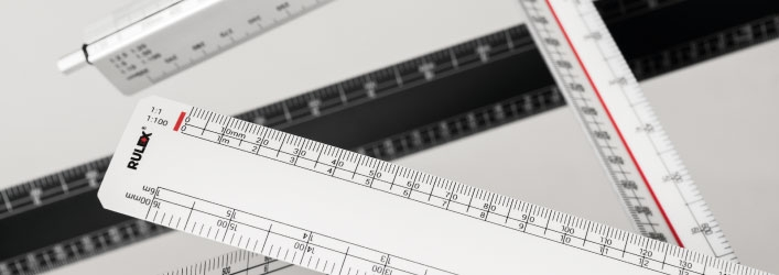 Scale rulers range