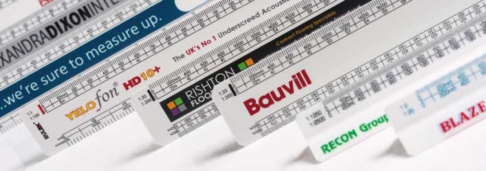 Personalised scale rulers