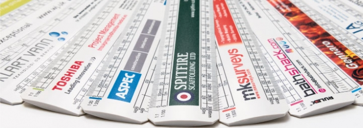 Promotional scale rulers group 1