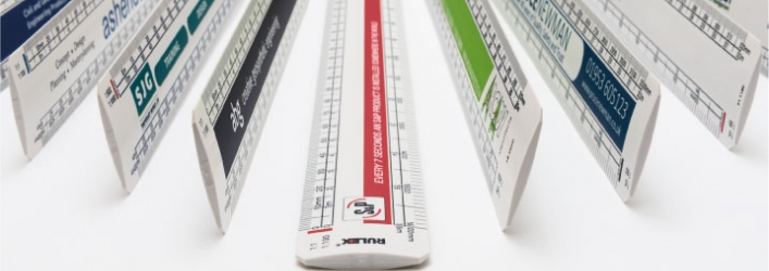 Promotional scale rulers group 2