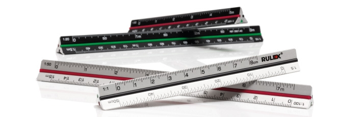 Mini and Micro metal scale rulers