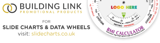 promotional slide charts and disc wheels